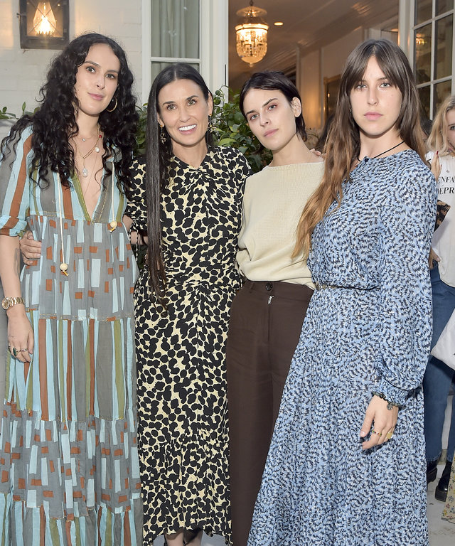 Demi Moore's 'Inside Out' Book Party