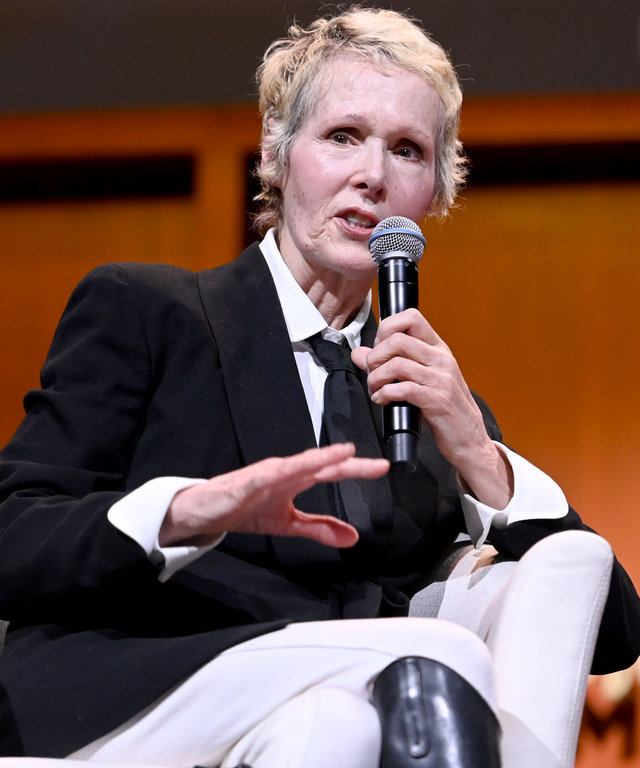 E. Jean Carroll 2019 Glamour Women Of The Year Summit