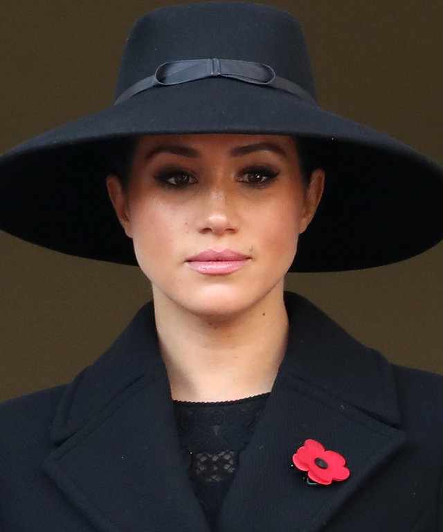 Meghan Markle at Remembrance Sunday Cenotaph Service