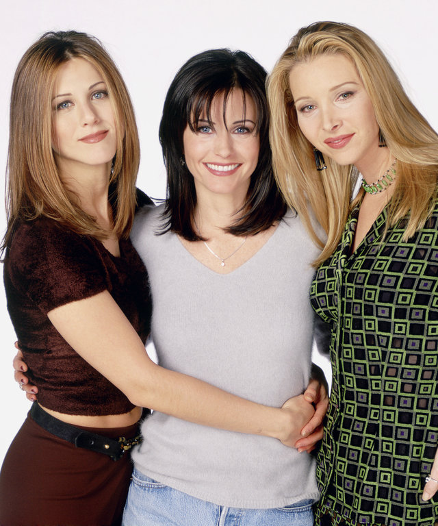 Courteney Cox, Lisa Kudrow, Jennifer Aniston