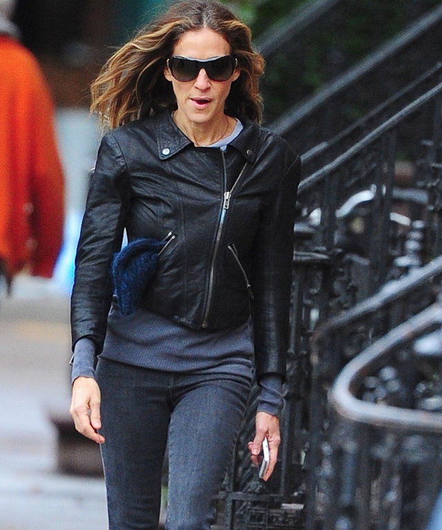 Sarah Jessica Parker in Level 99 Jeans