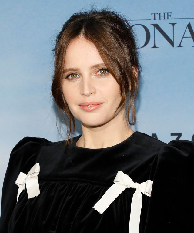 Felicity Jones The Aeronauts Premiere