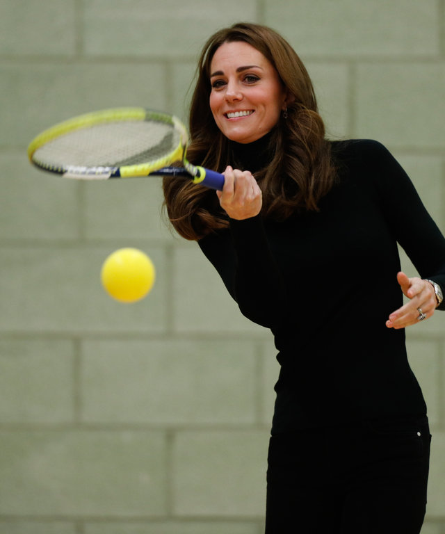 Kate Middleton Tennis Lessons