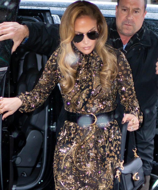 Jennifer Lopez Carries Coach Tabby Bag