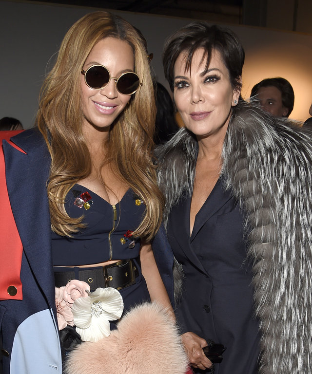 Kris Jenner and Beyonce