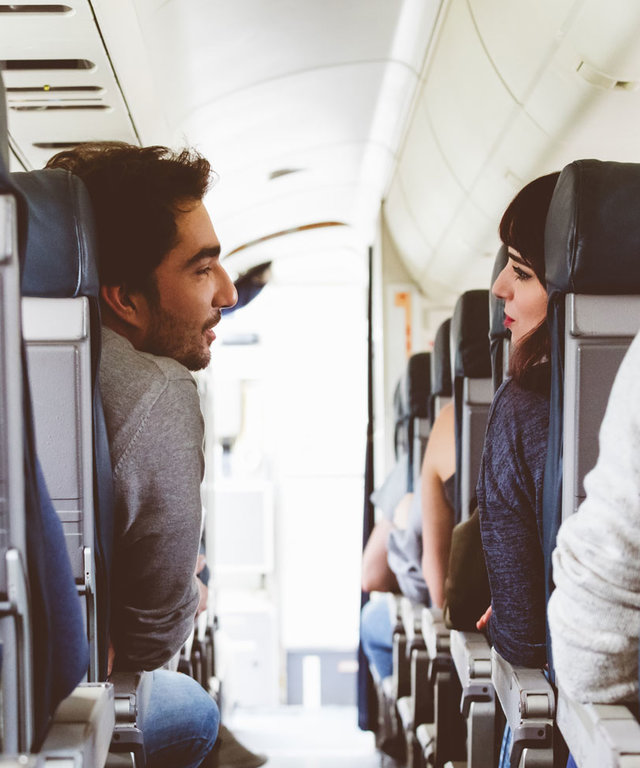 One in Every 50 Travelers Finds the Love of Their Life While on a Flight - Lead