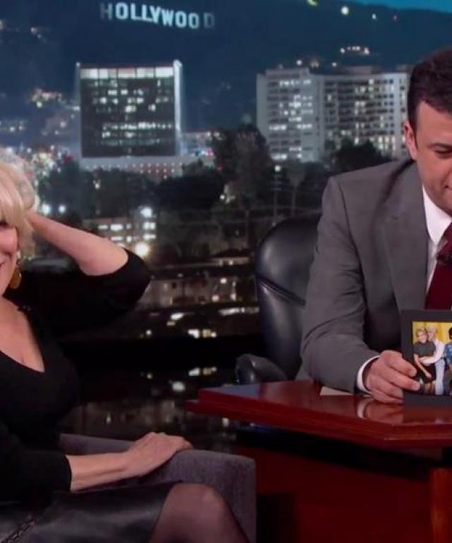 Bette Midler We Are the World jimmy Kimmel Live
