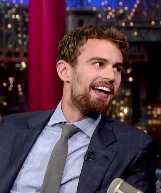 Theo James Letterman