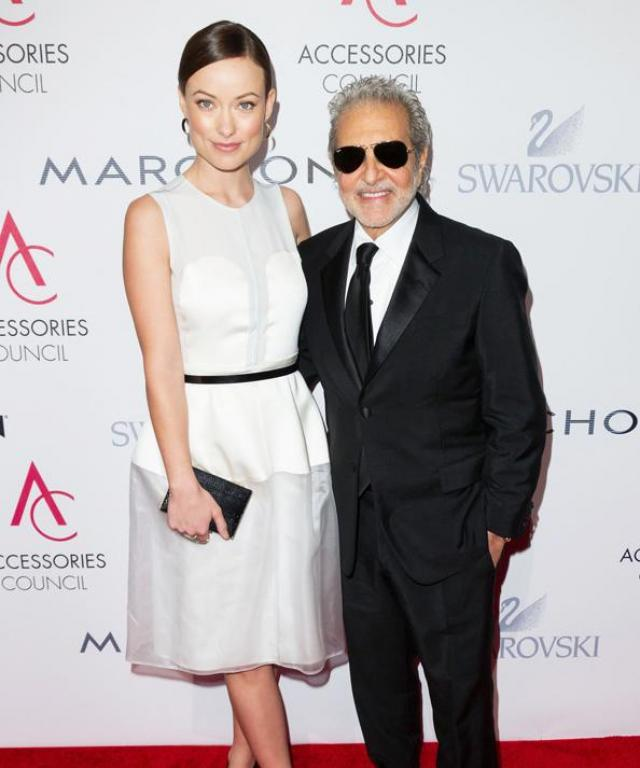 Vince Camuto and Olivia Wilde