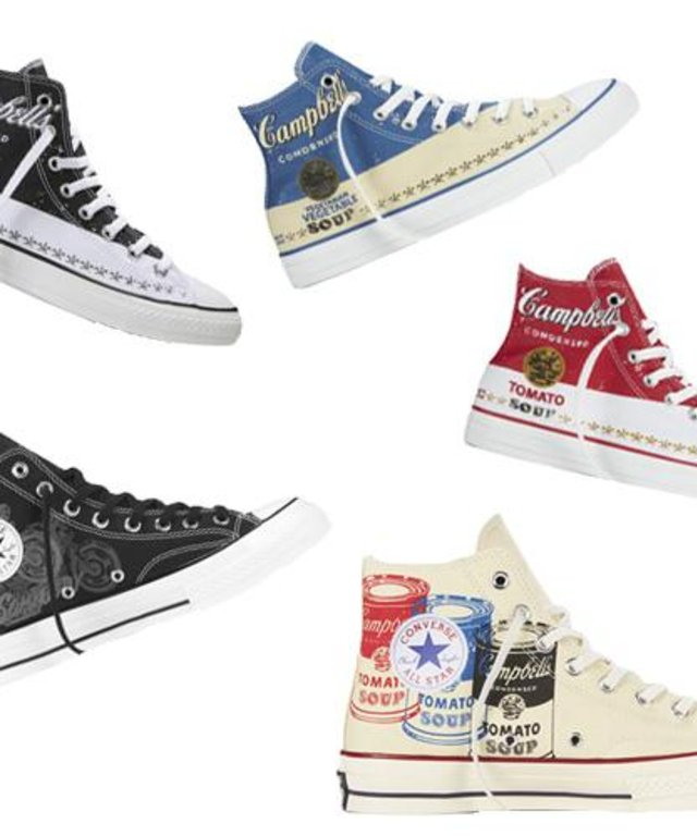 newest 53e83 375a2 Campbell s Tomato Soup Chuck Taylor Andy Warhol Shoes UPC 886955717442  product image  Launch You ll Love Converse x Andy Warhol Collection  InStyle. ...