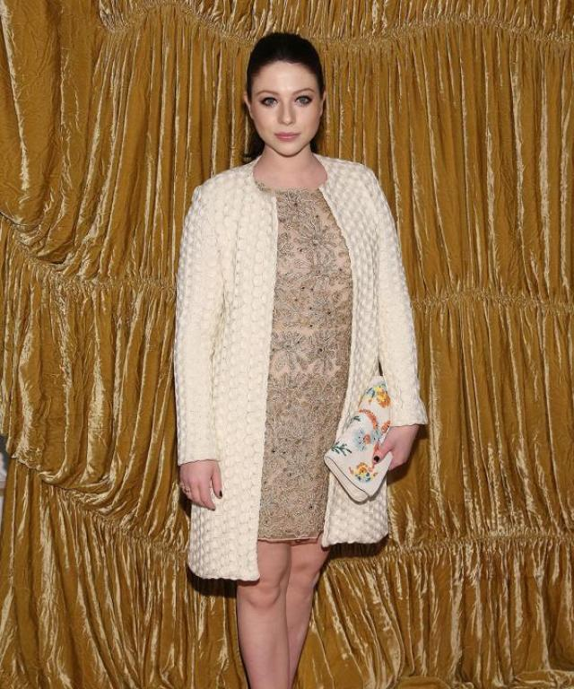 Michelle Trachtenberg at Alice + Olivia Presentation