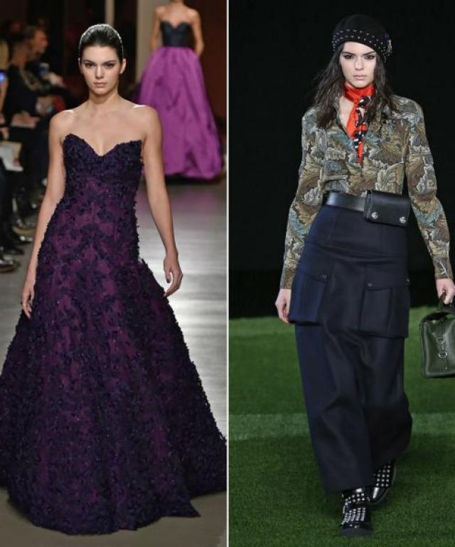 Kendall Jenner at NYFW Fall 2015