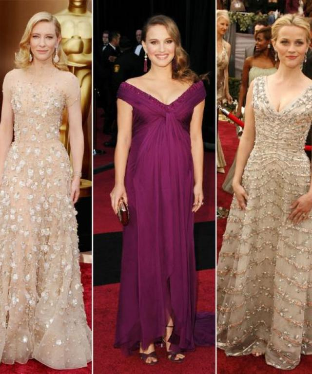 What the Oscars Winners Wore
