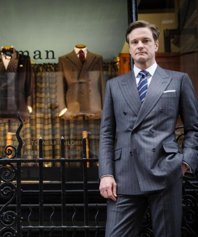 Buy Colin Firth's Wardrobe in Kingsman, the World's First 'Shoppable' FIlm
