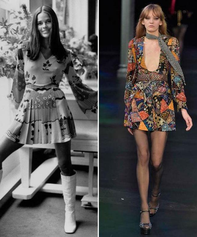 Then and Now: '70s Trend