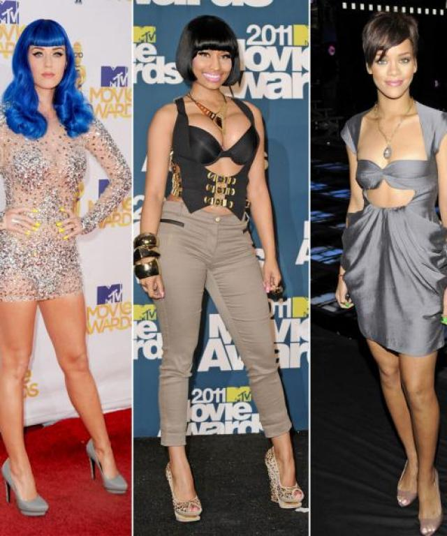 Katy Perry, Nicki Minaj, Rihanna