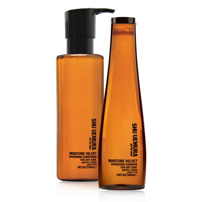 Shu Uemura Art of Hair Moisture Velvet Shampoo and Conditioner