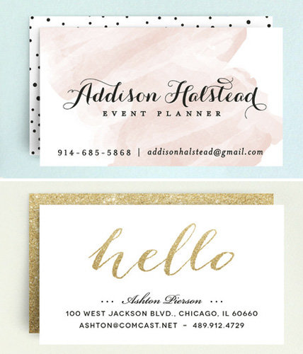 <p>Minted Business Cards</p>