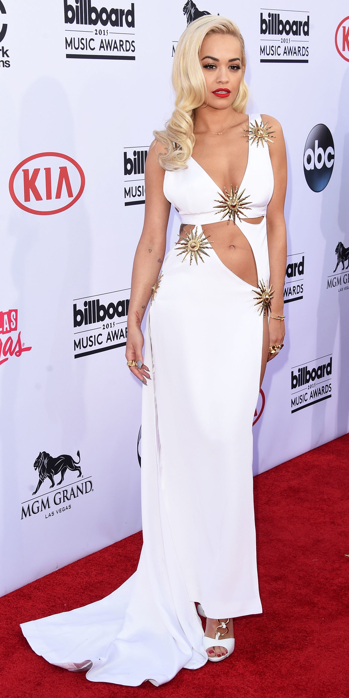 Rita Ora in Fausto Puglisi at the 2015 Billboard Music Awards