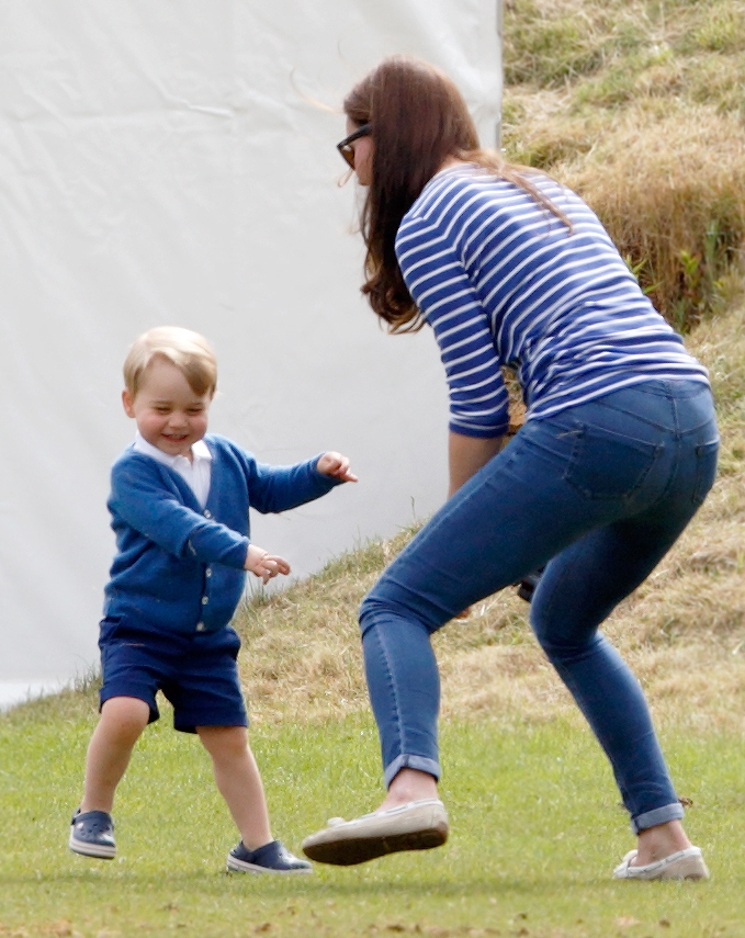 <p>Prince George Dances at a Polo Match</p>