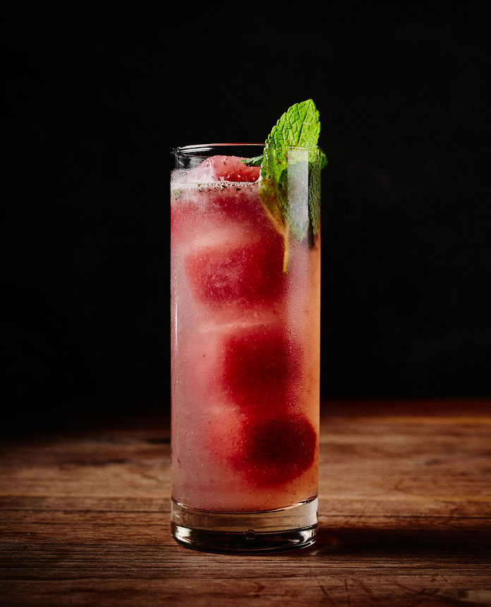 Red, White and Blue Cocktails - Calamansi Cocktail