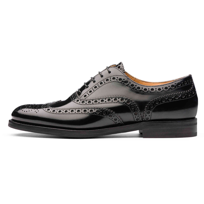 Menswear-Inspired Wingtip Oxfords