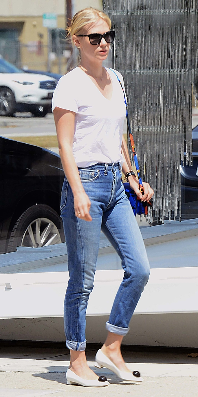 Celebs in White Tees and Jeans - Lead