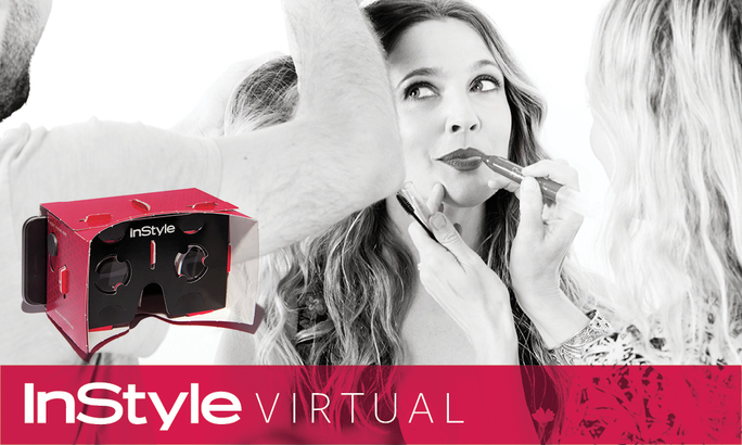 <em>InStyle</em> Virtual And Drew Barrymore Take You Inside Our November Cover Shoot Like Never Before