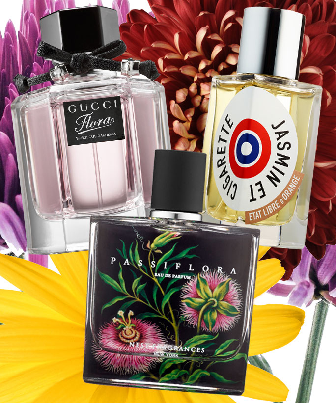 Shop the Prettiest Floral Fragrances For Fall