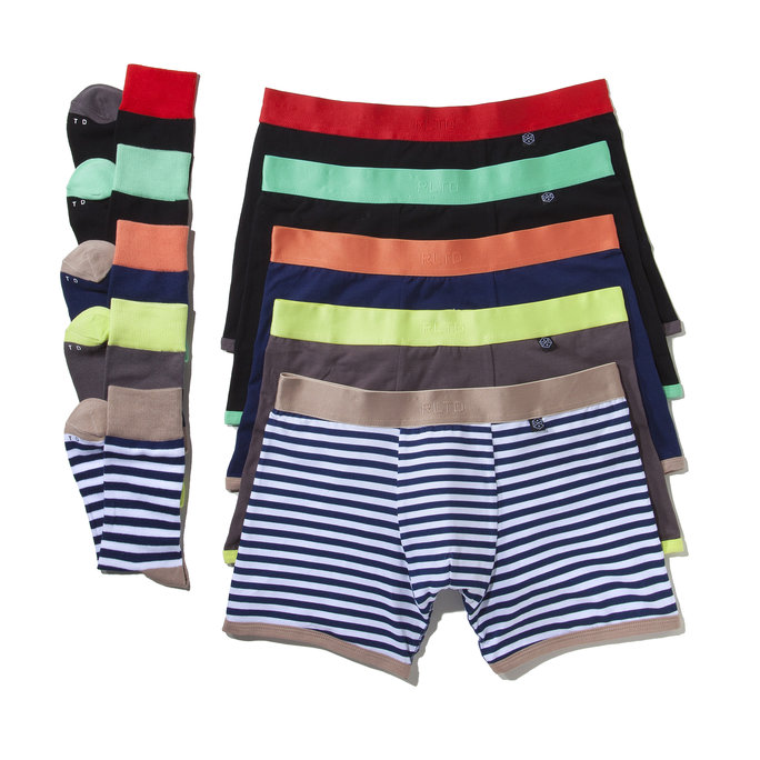 RELATED GARMENTS SOCKS AND BRIEFS