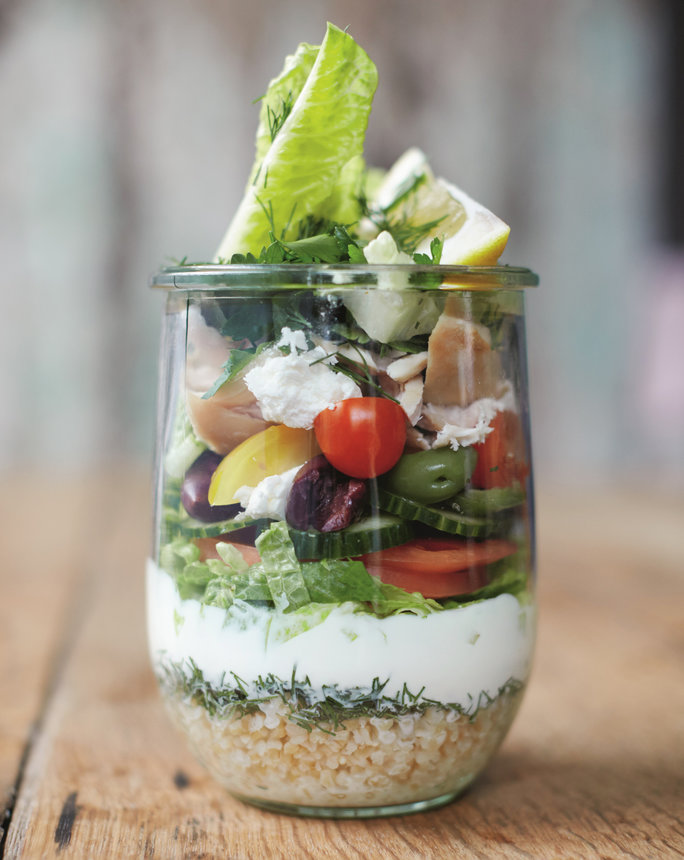 <p>Portable Moroccan Salad</p>