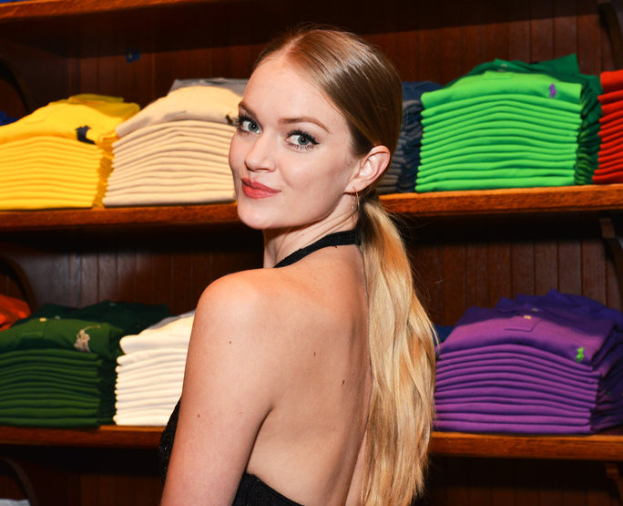 <p>Lindsay Ellingson - November 3, 2015 - Polo Ralph Lauren host Victories of Athlete Ally held at Polo Ralph Lauren Store, NYC. (Photo by Jared Siskin/Patrick McMullan) *** Please Use Credit from Credit Field ***</p>
