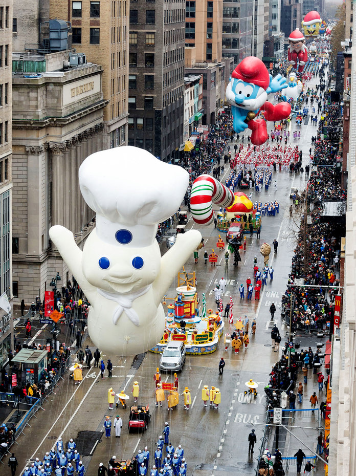 <p><em>The 91st Annual Macy's Thanksgiving Day Parade</em></p>