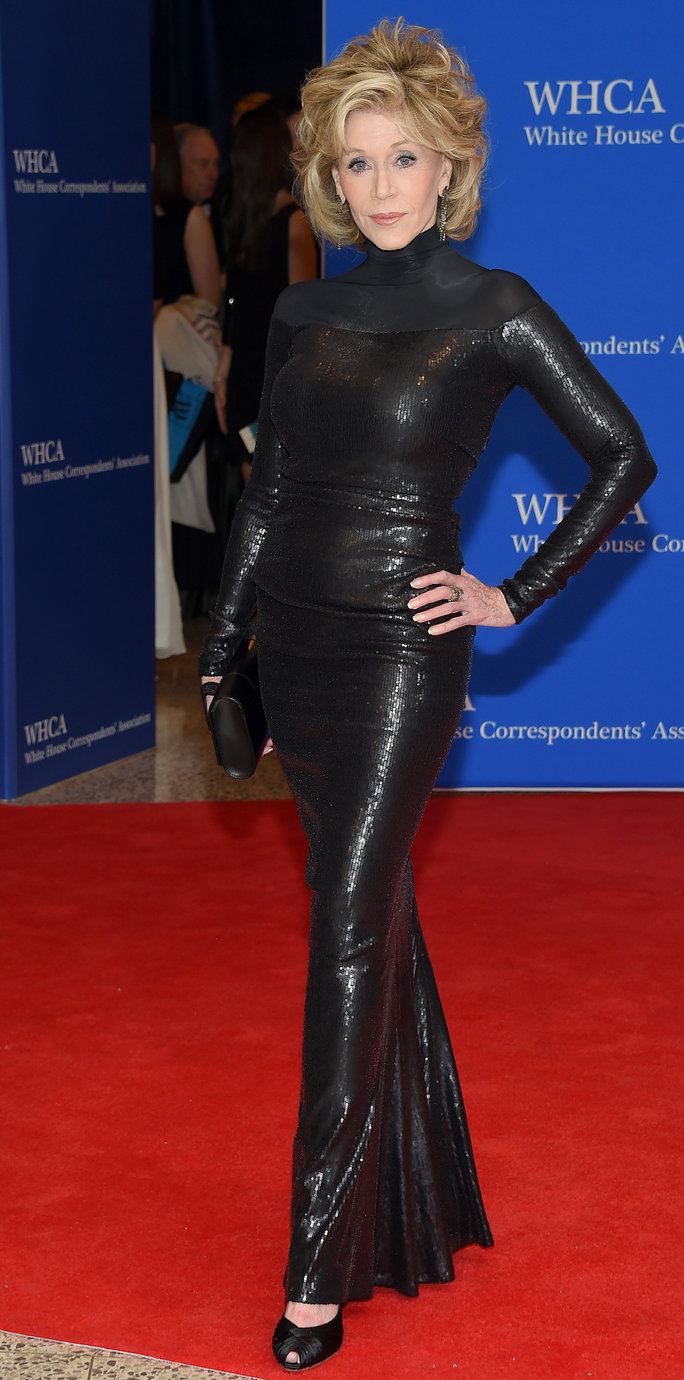 At the White House Correspondents' Association Dinner