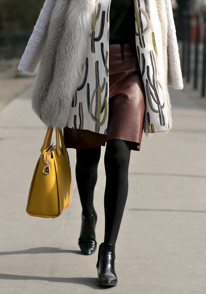 <p>I Resolve to: Sport More Dresses & Skirts in Cold Weather</p>