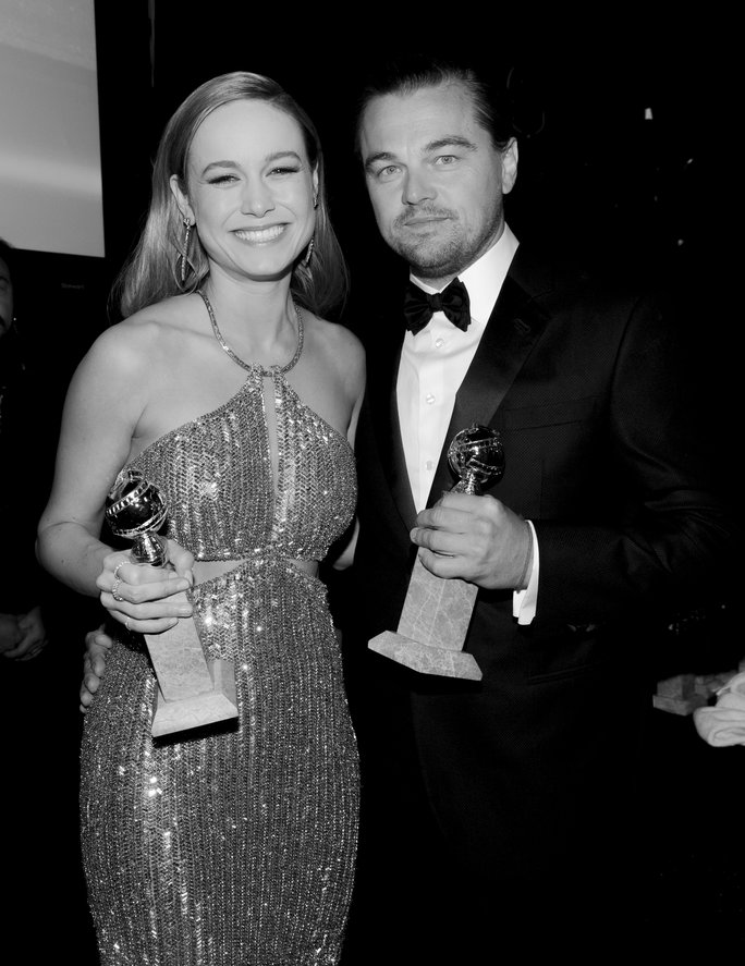 Backstage at the 2016 Golden Globes