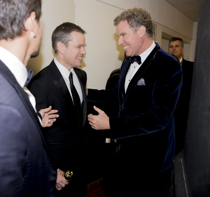 Matt Damon & Will Ferrell
