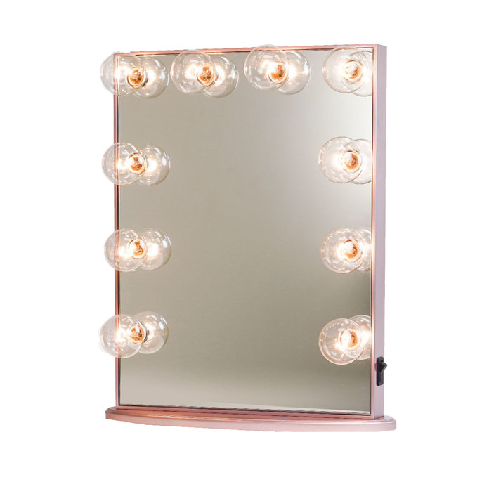 6 lighting options to help you flawlessly apply your makeup impression vanity hollywood glow vanity mirror aloadofball Choice Image