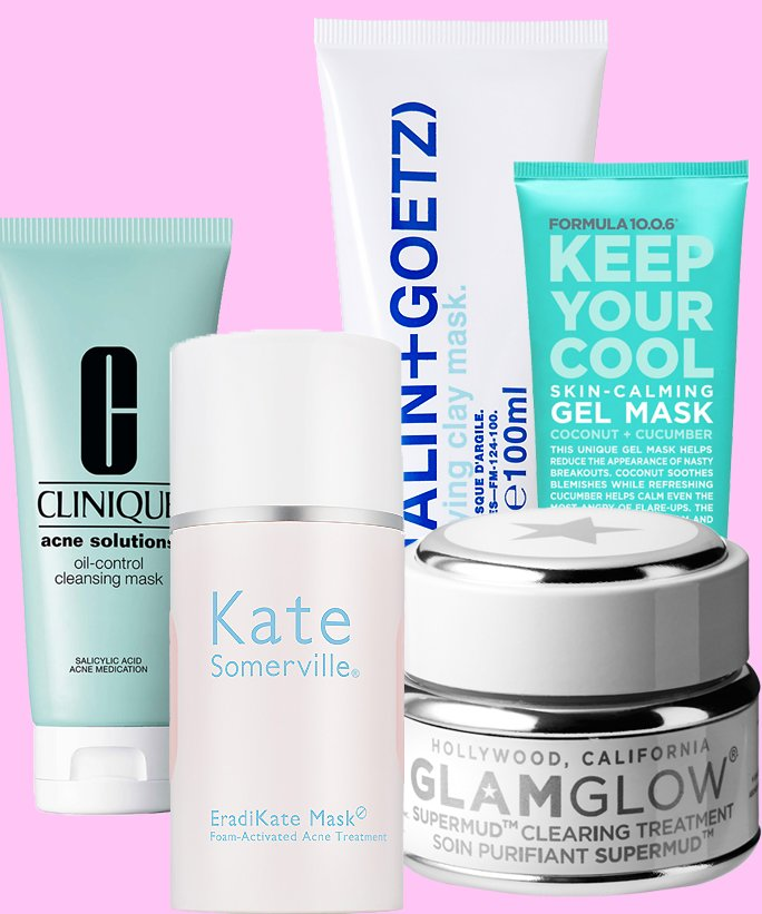 The 8 Most Effective Acne-Fighting Face Masks