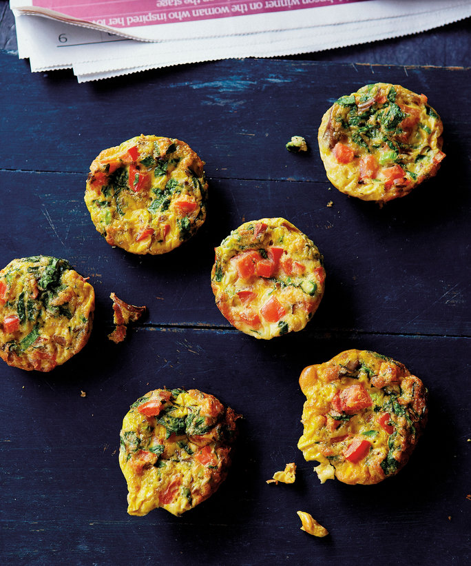 "Step Up Your Breakfast Game with These Scrambled Egg Breakfast ""Muffins"""