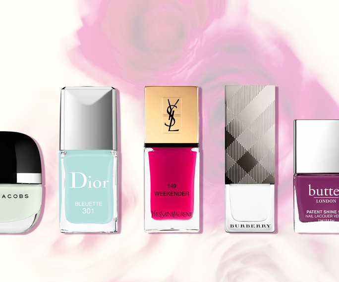 The Hottest Spring 2016 Nail Colors Right Now