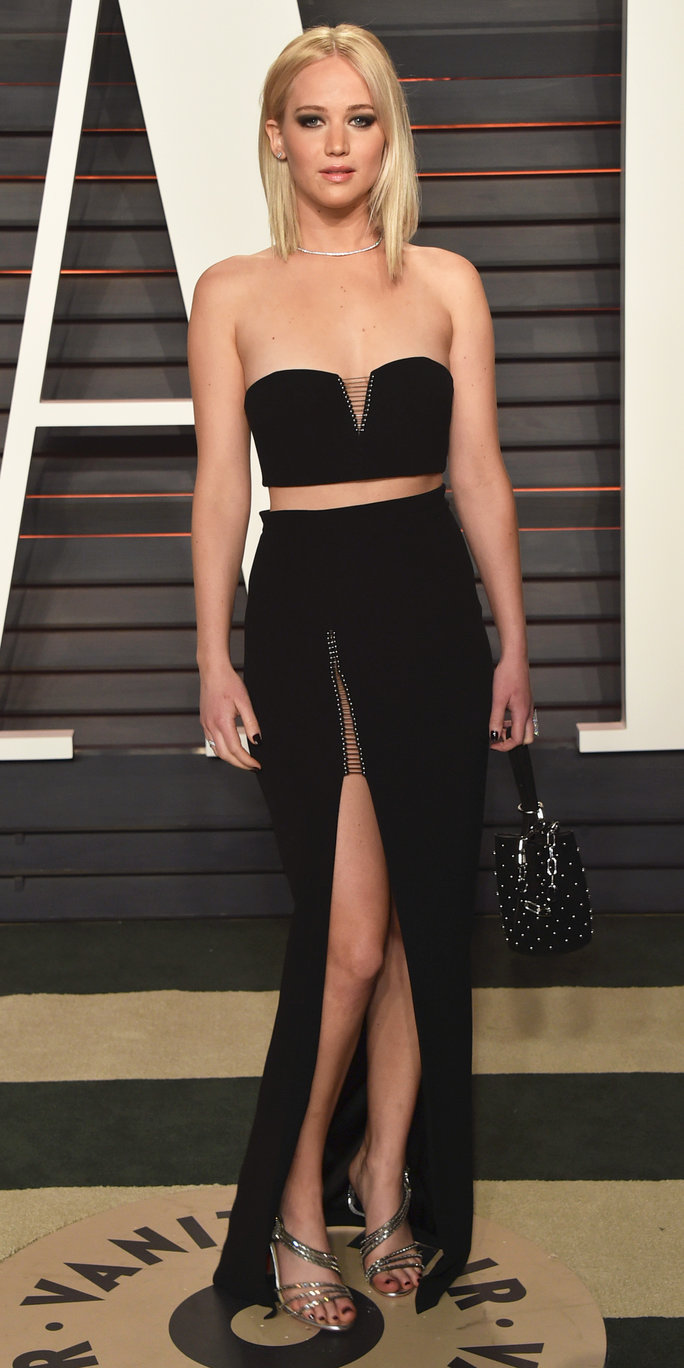 Jennifer Lawrence at Vanity Fair Oscars Party