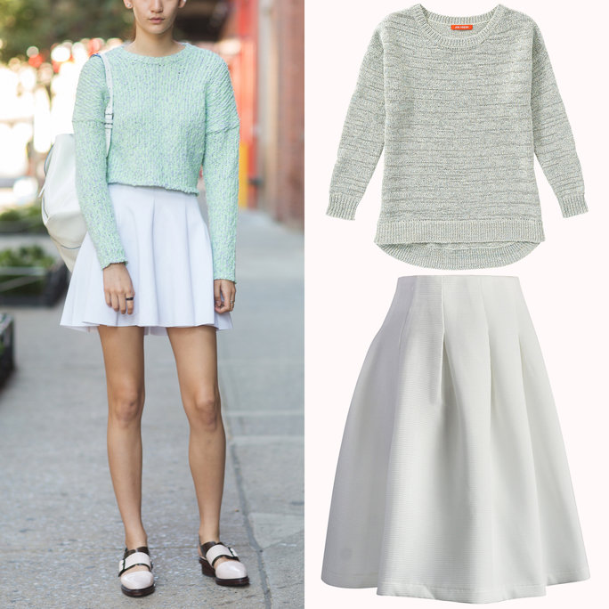 82713e946d96 Sweater-Skirt Combos for Spring
