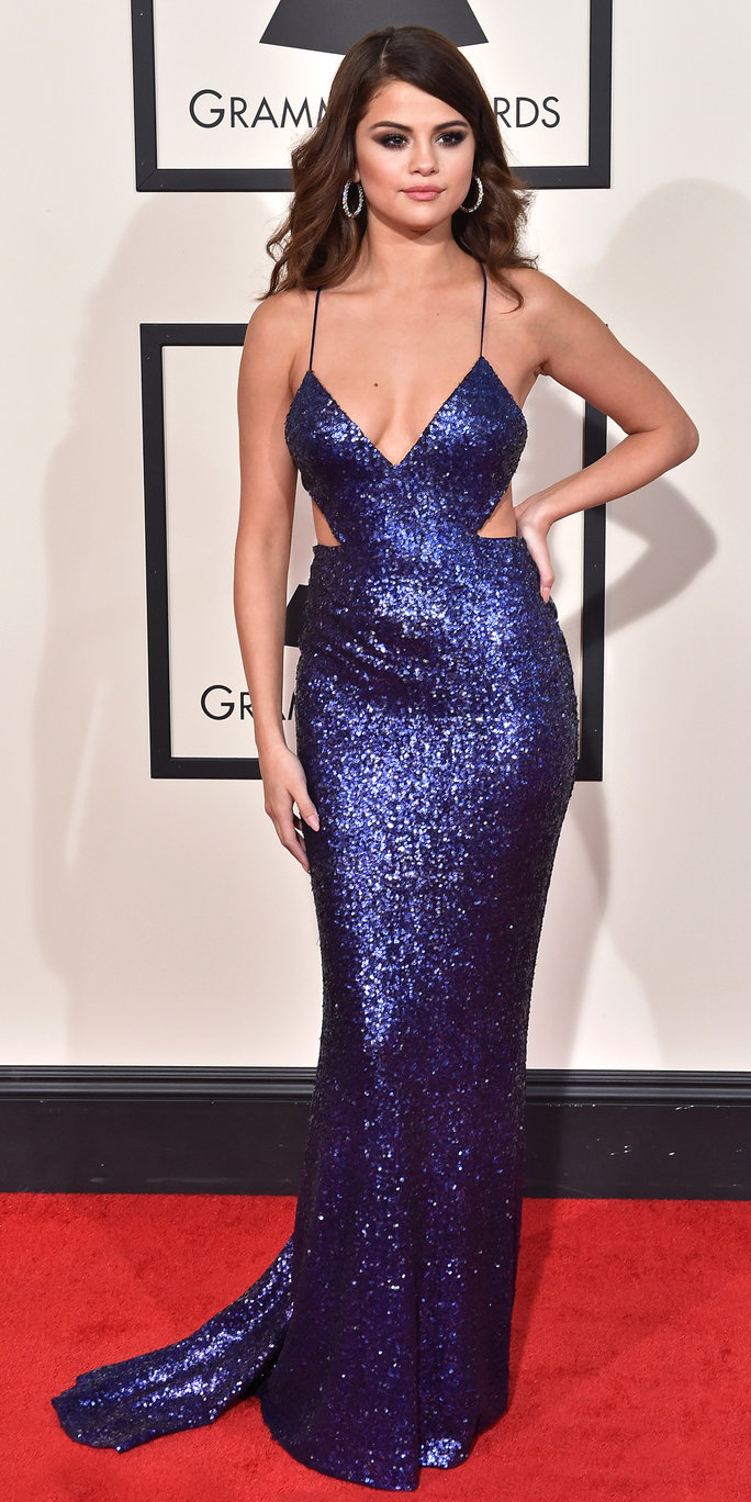Selena Gomezs Best Red Carpet Looks  Instylecom-8434
