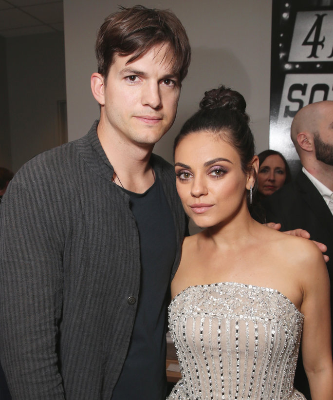 Ashton Kutcher Mila Kunis Lead