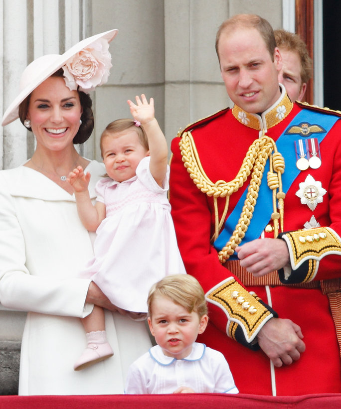 Princess Charlotte Makes Her Balcony Debut