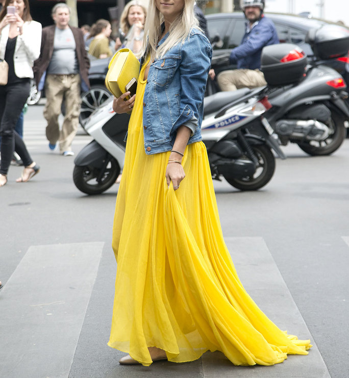 <p>Rein In an Extra-Full Dress</p>