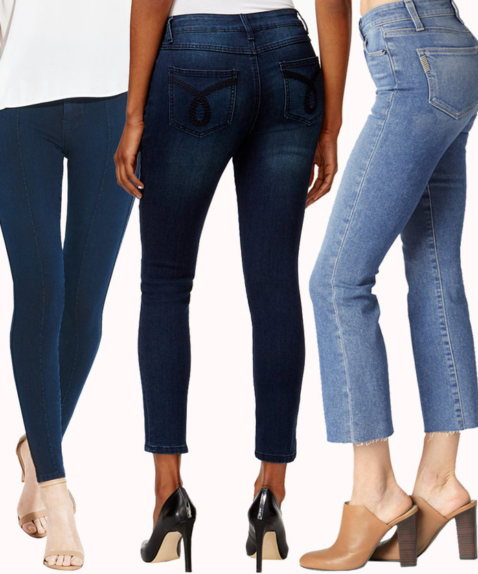 Best high waisted jeans for thick thighs