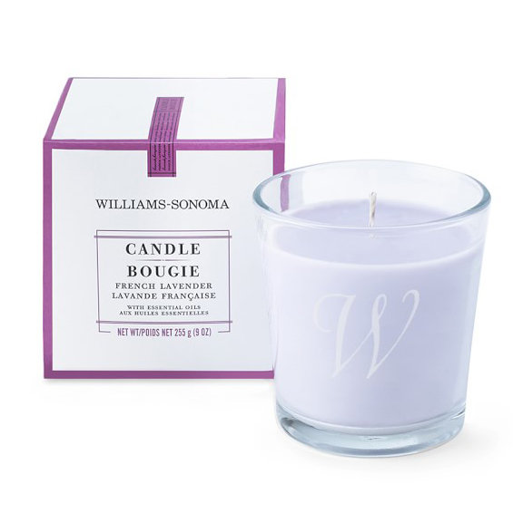 <p>Williams-Sonoma French Lavender Candle</p>