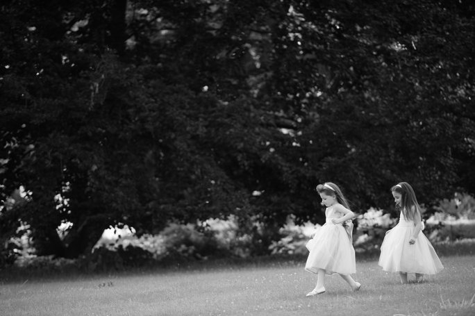 <p>The Flower Girls and Ring Bearers</p>